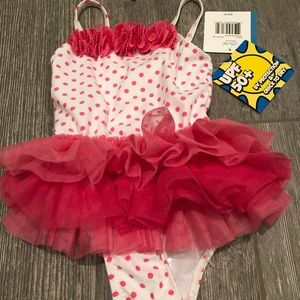 NWT Little Me baby swimsuit 24 months